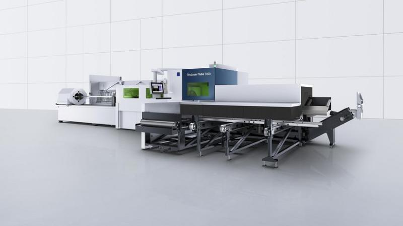 德国通快光纤激光切管机 TrunLaser Tube 5000 fiber