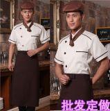 廠家批發訂做棉男式廚師服飯店廚師工作服中西餐廳料理師 工裝