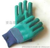 半挂胶手套3L2型中国青岛集芳制造结实耐用