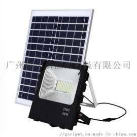 太阳能路灯10W太阳能投光灯太阳能家用庭院灯