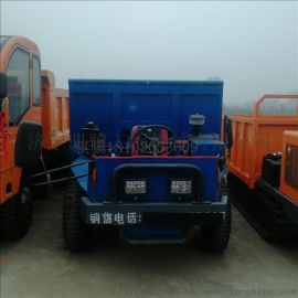 拉毛竹專用四不像 自卸工程車 雙缸四不像拖拉機
