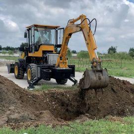 筑工932-22型平度两头忙产挖一体机生产厂家