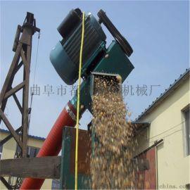 环保软管吸粮机 软绞龙式抽粮装车机xy1