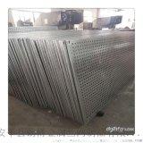 白  路衝孔板圍擋建築工地安全防護金屬穿孔圍欄