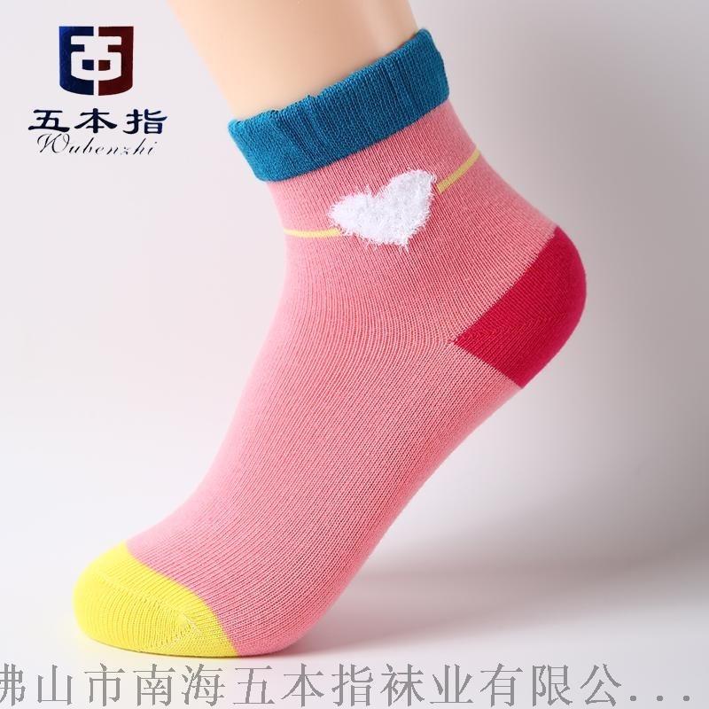 儿童袜厂家代工贴牌外贸全棉童袜 OEM儿童袜子