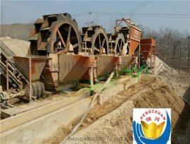 供应新疆**耐用洗砂机,水洗沙石分离机
