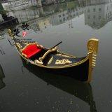 3米威尼斯貢多拉船多少錢 吉林河北北京木船廠家出售高檔小型裝飾貢多拉船 江蘇優質木船供應商