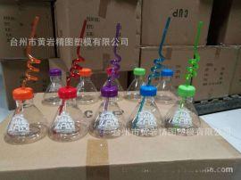 PS塑料高脚杯,PET红酒杯 吸管杯 PET饮料杯 塑料瓶