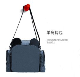 上海箱包定制多功能妈咪包餐椅包母婴包可添加logo