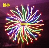 桃林LED煙花燈禮花燈焰火燈樹燈發光樹椰樹