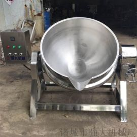 强大机械**火锅底料炒锅 电加热夹层锅