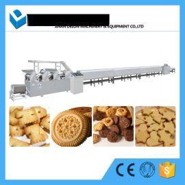 全自动创业小型饼干生产线