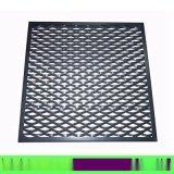 厂家直销黑色外墙拉网铝板 六角菱形网格铝板
