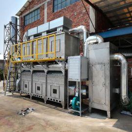 行业排放废气标准中VOCs的定义汇总 脱附式催化燃烧