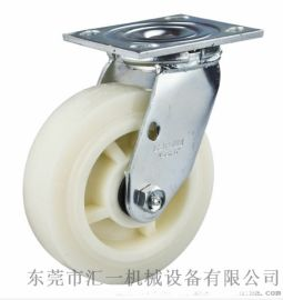 厂家直销   重型5寸  6寸白玉尼龙轮