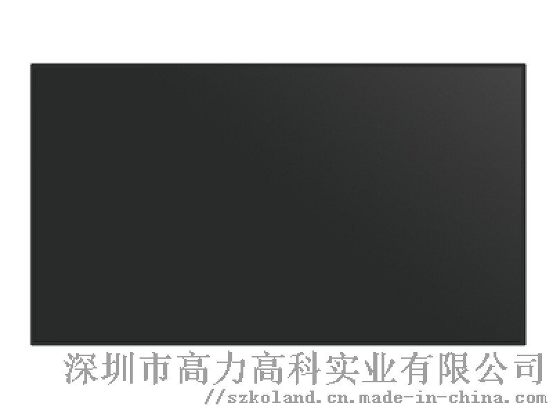 55寸三星3.5mm拼接屏大屏廣告拼接牆