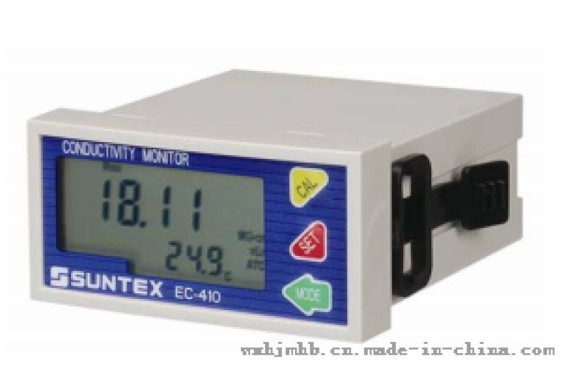 上泰微電腦電導率/電阻率變送器EC-410