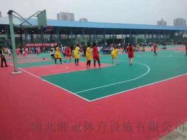 篮球场悬浮地板幼儿园塑胶拼装地板供应商