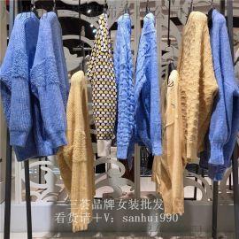 毛衣女外套女宽松针织开衫百搭品牌女装货源
