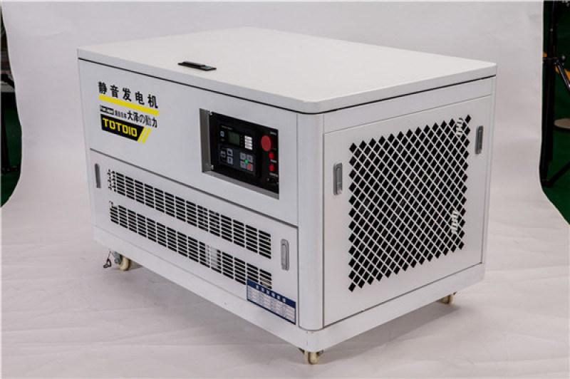 无刷12千瓦静音汽油发电机大泽动力