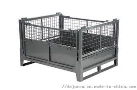 铁屑箱废料回收箱钢制周转箱金属箱铁皮箱加厚料箱铁