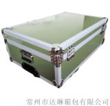 厂家推荐 专业定做铝合金箱 定制绿色航空箱