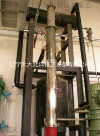 不锈钢精馏塔 天津大学精馏塔 溶剂回收精馏塔