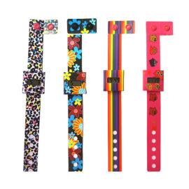 手表厂火爆热销时尚新款促销礼品带扣DIY电子纸手表