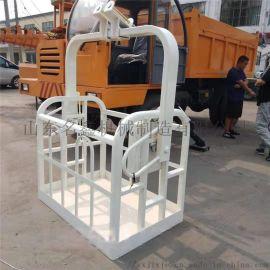 吊车吊篮现货销售 1.2米高空作业吊车吊篮