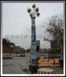陶瓷燈柱定做廠家 大型園林景觀燈柱定製