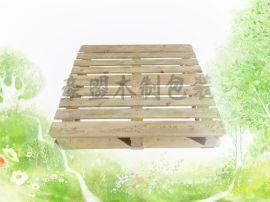 木托盘定制尺寸规格实木四面进叉出口欧标松木熏蒸证明木托盘