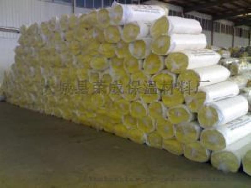 玻璃棉毡生产工艺 钢构玻璃棉卷毡特点