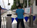 出入口控制 智慧道閘車牌識別工地實名制通道閘