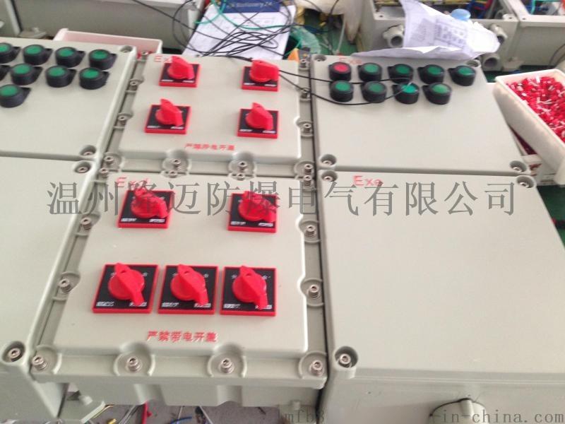 BXD52-YP防爆动力电磁起动配电箱(两地控制)