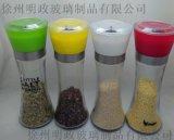 厨房用品胡椒粉研磨器玻璃胡椒磨调料瓶研磨瓶