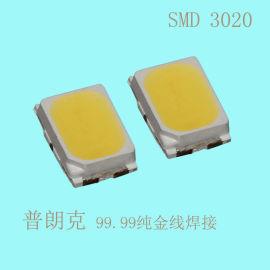 大功率3020贴片LED灯珠 高显1W深圳厂家直销