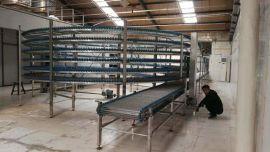 冷却螺旋塔定制厂家面包蛋糕吐司散热冷却螺旋塔