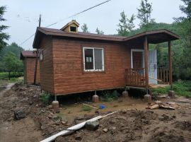 北京成品木屋 小型钢结构木屋 组装木屋农家乐村庄