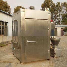 供应全自动烟熏炉豆干腊肉烟熏炉30型烟熏炉食品机械