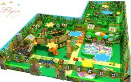 廠家直銷森林系列淘氣堡室內兒童樂園設備廣州飛翔家
