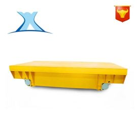 非标定制仓储货物装载平板小车蓄电池搬运车
