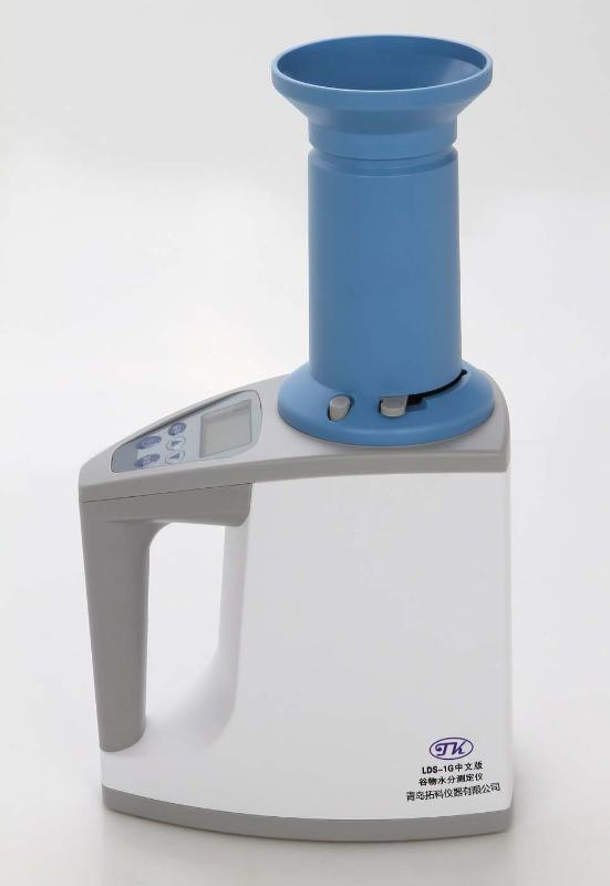 容重版中文LDS-1G電腦穀物水分測定儀