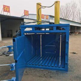 运阳机械双顶油压打包机现货 啤酒罐立式液压打包机 节能环保
