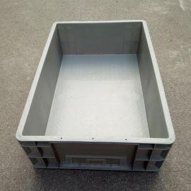 塑料周转箱 ,塑料灰色物流箱, 塑料46160箱