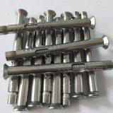 304不锈钢膨胀螺丝平/沉头内六角 内置式膨胀螺栓 拉爆M6/8/10/12