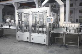 厂家供应 玻璃瓶鸡尾酒 冲瓶灌装压盖机 鸡尾酒灌装压盖机