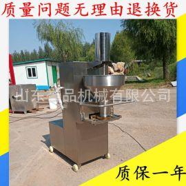 **牛肉丸子成型肉丸机 海鲜丸子成套蒸煮流水线设备 牛肉肉丸机