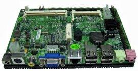 N270无风扇主板,车载船载电脑主板,瘦客户机桌面准系统