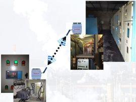 赤峰远联钢厂高压变频器无线模拟量控制方案