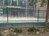 鍍鋅管鐵藝欄杆 學校 工廠圍牆三橫杆護欄